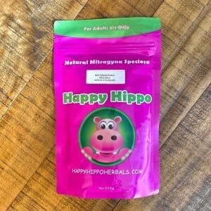 Happy Hippo Red Dragon Bali Kratom 4 oz package