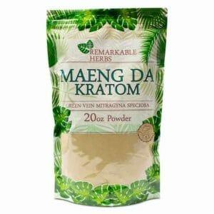 Remarkable Herbs Green Vein Maeng Da Kratom Powder