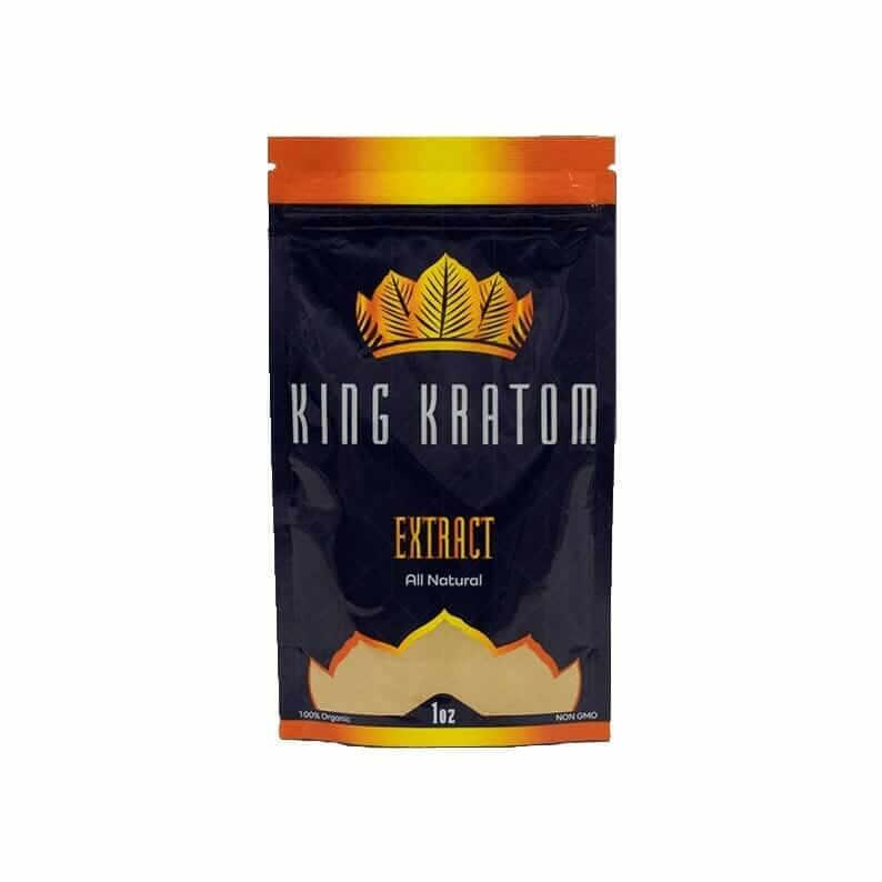 KIng Kratom extract 1oz bag